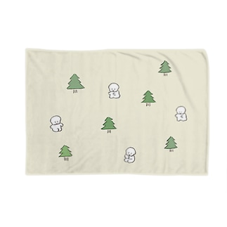 森のワヌ山ちゃん Blankets