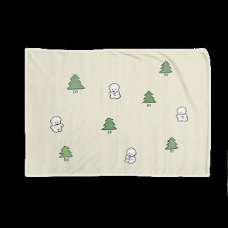 ワヌ山の森のワヌ山ちゃんブランケット