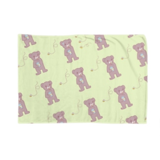 クマとハチ Blankets
