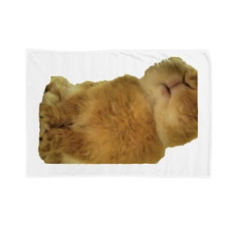 召喚獣シリーズ うさぎ Blankets