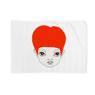 RED HEAD ANGE ブランケット
