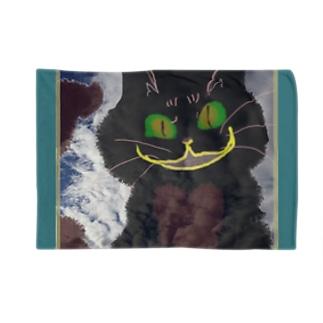 izumimimimimimiのとろけたハート猫ニヤリ Blankets