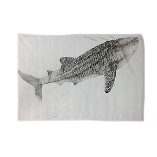mayunoasakawaのジンベエザメ Blankets