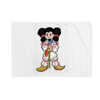大国クン Blankets