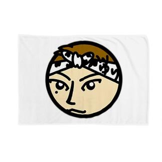パ紋No.3139 ゆり Blankets
