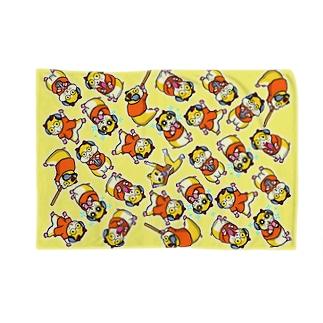 コロユキ5匹 Blankets
