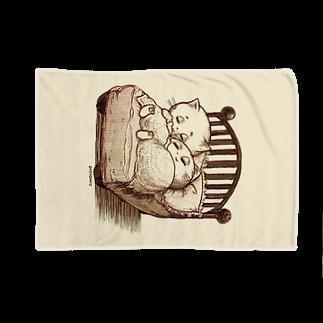 Pokopoko houseのちいさなベッド Blankets