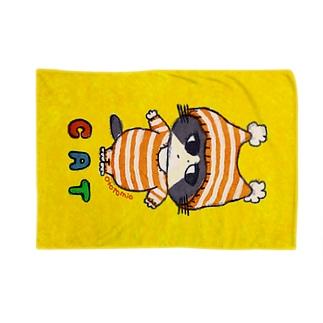 C A T ぼうしねこ Blankets