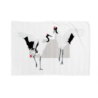 丹頂の舞 Blankets
