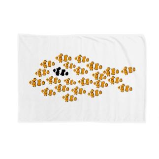 クマノミ Blankets