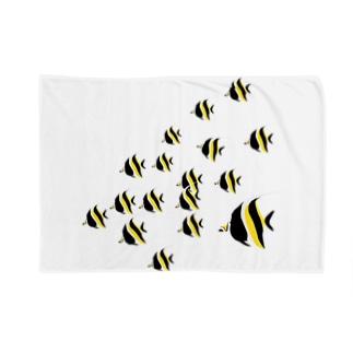 ツノダシ Blankets