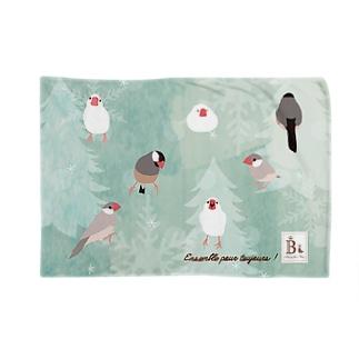 文鳥さん Blankets