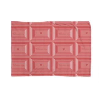 Ribbon-corsage*のピンクチョコレート2 Blankets