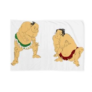 おすもうチャン(取り組み) Blankets