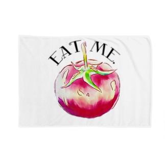 EatMe.トマト(3) Blankets