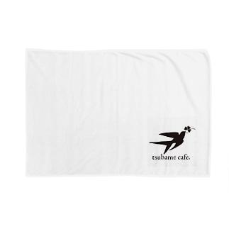 ツバメカフェオリジナル Blankets