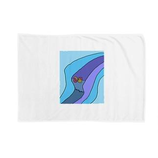 JUNSEN(純仙)見えない風の道筋 Blankets