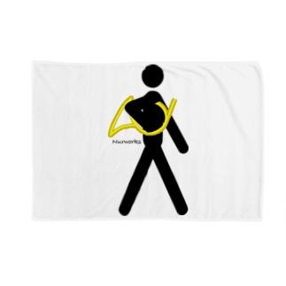 ぬるのThe Walking Hornist w/o Logo Blankets