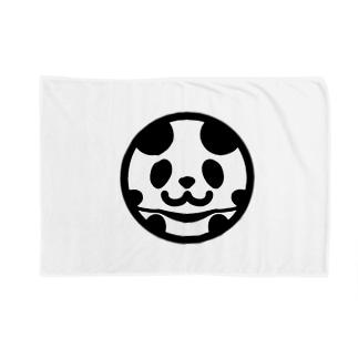 まんまるパンダ Blankets