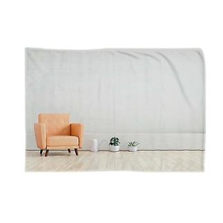 リビング 家 住まい ソファー Blankets