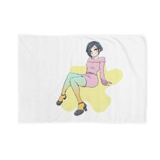 カラータイツ Blankets