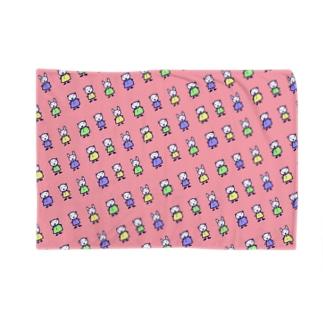 くま×うさぎ×くま Blankets