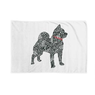柴犬プーちゃん Blankets
