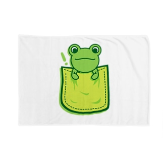 Frog_in_the_Pocket ブランケット