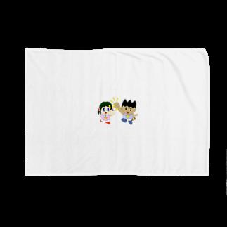 WANPA's STOREのミニわんぱ君としおりちゃん Blankets