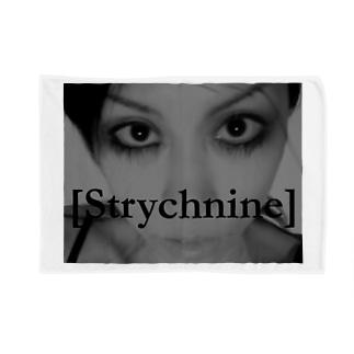 [Strychnine] zAkro フォトカード柄~弐~(モノクロ) Blankets