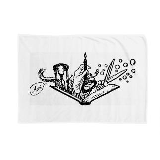 -Noir+Angelique- メモリアルイラスト柄シリーズ Blankets