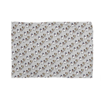 文鳥紳士がいっぱい Blankets