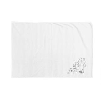 NECO * 3人衆 Blankets