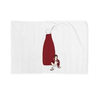 トマトケチャプ女子 Blankets