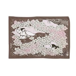 桜 ブランケット