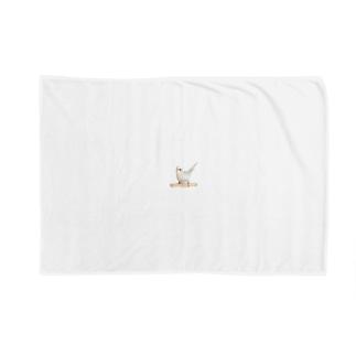 セキセイインコ「シャチホコ!」 Blankets