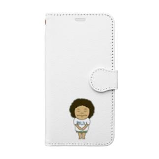 おじいくん Book-style smartphone case
