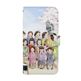 新1年生 Book-style smartphone case