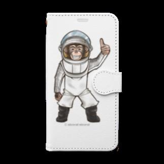 Nicoral Nicorelの親愛なる友へ! Book-style smartphone case