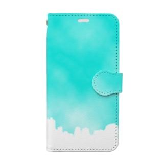 染まる Book-style smartphone case