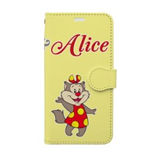 ボブ&アリス Book-style smartphone case