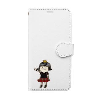PUNKらんどちゃんのTシャツ☠️ Book-style smartphone case