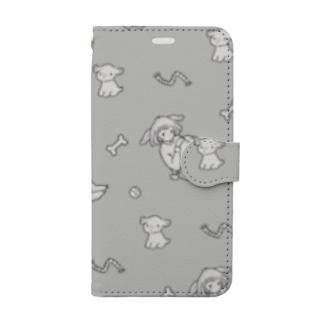 犬=君 Book style smartphone case
