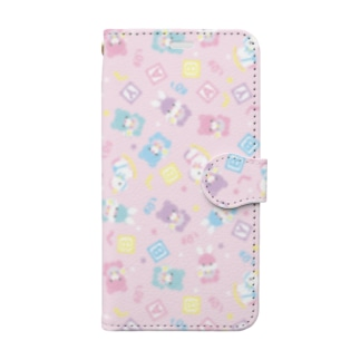 ani♡Я手帳型ケース(ベビー) Book style smartphone case