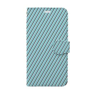 柄_07 (HDO) Book-style smartphone case