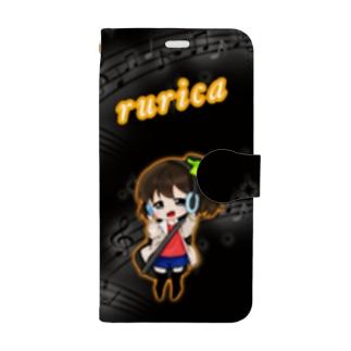 るりかちゃん Book-style smartphone case