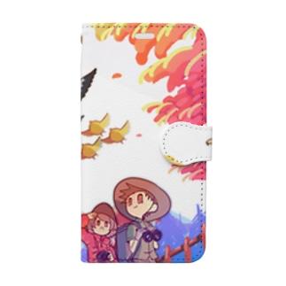best-friends.shopのAutumn Book-style smartphone case