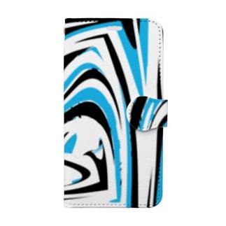 うず Book-style smartphone case