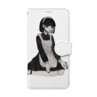 メイド(1) Book-style smartphone case
