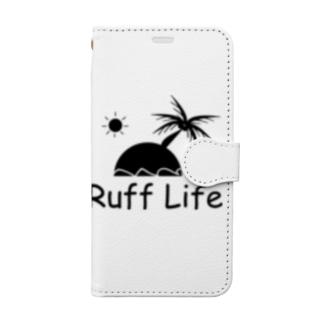 ラフ・ライフシリーズ Book-style smartphone case
